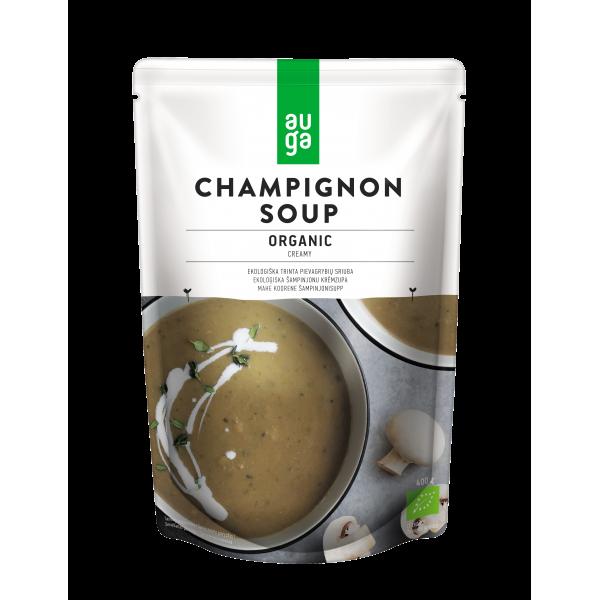 Суп-крем из шампиньонов органический Auga, 400 гр