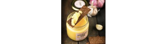 Масло ГХИ с чесноком, 150 гр.