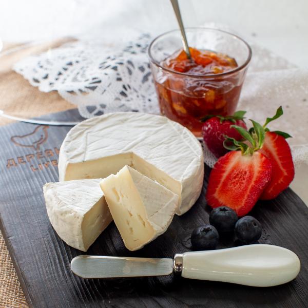 """Сыр """"Камамбер"""" из КОЗЬЕГО молока, 250 гр."""