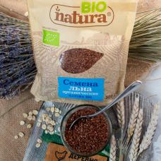 Семена льна органические NATURA BIO 300 г