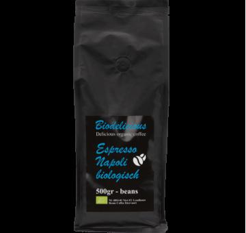 Кофе Эспрессо Неаполитанский зерновой ОРГАНИЧЕСКИЙ, 500 гр.