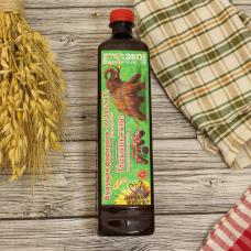 Масло подсолнечное высокоолеиновое холодного отжима, для жарки/салатов 0,85 л.