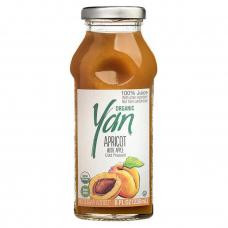 Сок абрикосовый (с добавлением яблочного сока) Organic YAN 250мл
