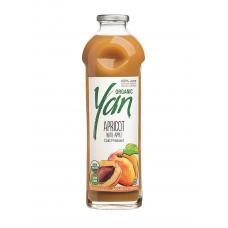 Сок абрикосовый (с добавлением яблочного сока) Organic YAN 930мл