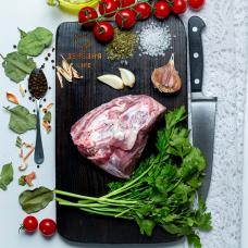Баранина окорок н/к стейки 1 кг.