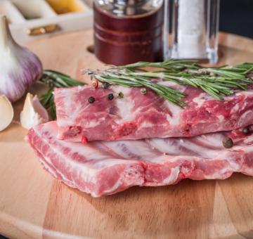 Рёбра свиные, 1 кг.