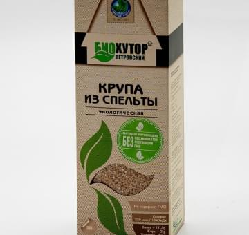 Крупа из спельты ОРГАНИЧЕСКАЯ, 300 гр.