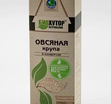 Овсяная крупа ОРГАНИЧЕСКАЯ, 300 гр.