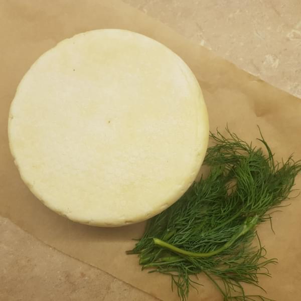 Сыр ДОМАШНИЙ из КОЗЬЕГО молока, 500 гр.