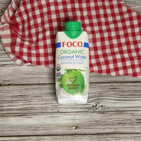 Кокосовая вода Foco ОРГАНИЧЕСКАЯ 330 мл.