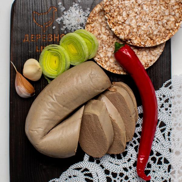 Колбаса ливерная ОРГАНИЧЕСКАЯ, 0,3 кг.