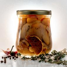 Маслята резаные соленые, 500 гр.