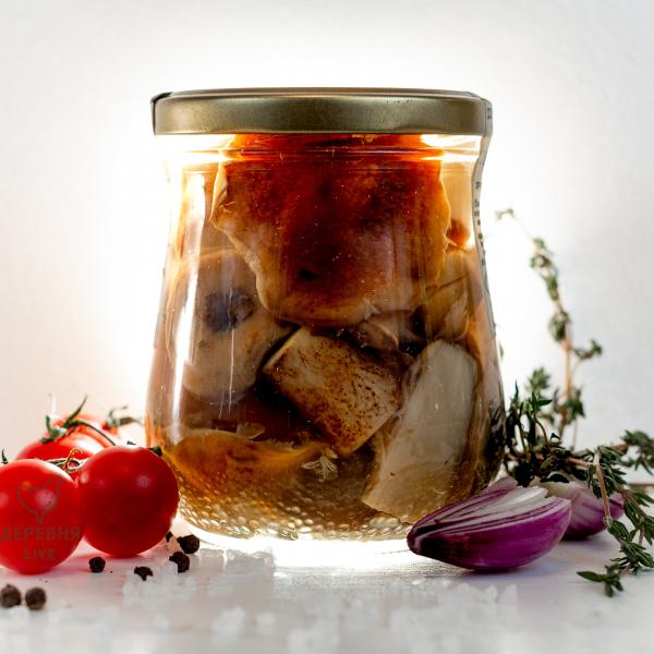 Подосиновики резаные соленые, 500 гр.