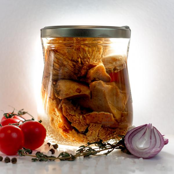 Рыжики резаные соленые, 500 гр.