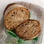 Сельский хлеб из органической муки, 500 гр.