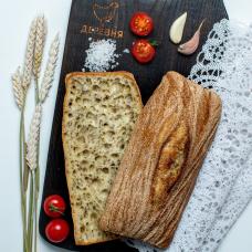 Хлеб Чиабатта из органической муки, 250 гр.