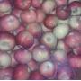 Яблоки домашние красные, 1 кг.
