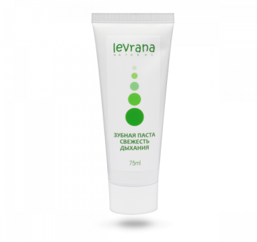 Зубная паста Свежесть дыхания, 75мл от LEVRANA