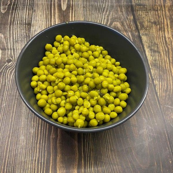 Зелёный горошек ОРГАНИЧЕСКИЙ ингредиент, 425 гр.