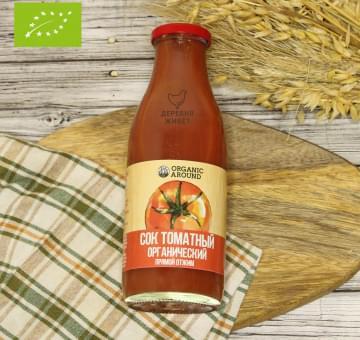 Сок томатный ОРГАНИЧЕСКИЙ, 0,5 л.