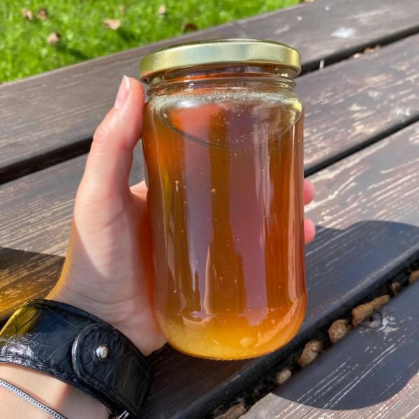 Мёд Каштан-Липа горный натуральный, в стекле, 500 гр.