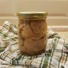 Печень трески натуральная, в стекле, 700 гр.