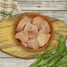 Индейка ГУЛЯШ из грудки БЕЗ АНТИБИОТИКОВ, за 0,5 кг.