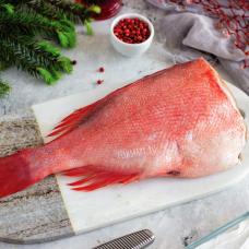 Морской окунь дикий тушка свежемороженый, 0,4 кг.
