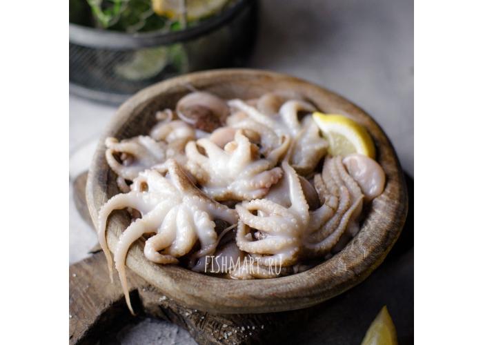 Молодые осьминоги 40/60 дикие свежемороженные, 1 кг.