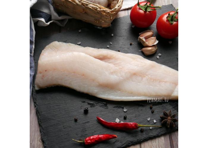 Треска дикая филе без кожи морской заморозки, 0,5 кг.