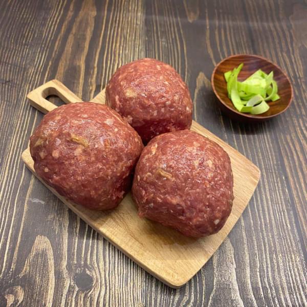 Бифштекс из говядины и баранины, 0,5 кг.