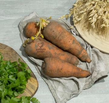 Морковь ОРГАНИЧЕСКАЯ, 1 кг.